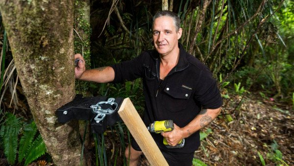 Pete Morresey and his innovative possum traps